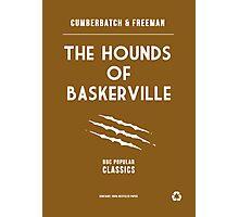 BBC Sherlock - The Hounds of Baskerville Minimalist Photographic Print