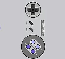 Snes Controller/Gamepad by Guilherme Bermêo