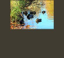 Mallard Ducks Relaxing In Pond At George George Park Unisex T-Shirt