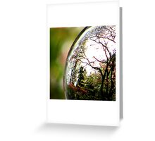 Spring In A Crystal Ball Greeting Card