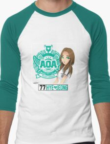 AOA Hyejeong (Heart Attack) Men's Baseball ¾ T-Shirt