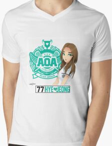 AOA Hyejeong (Heart Attack) Mens V-Neck T-Shirt