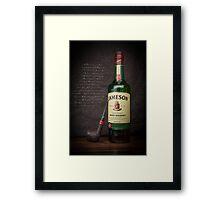 Irish Whiskey Time Framed Print