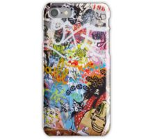 Urban Graffiti Mess iPhone Case/Skin