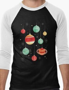 Joy to the Universe Men's Baseball ¾ T-Shirt