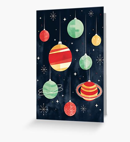 Joy to the Universe Greeting Card
