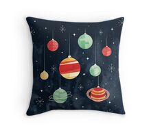 Joy to the Universe Throw Pillow