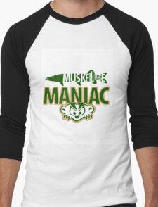Muskellunge Maniac Too Men's Baseball ¾ T-Shirt