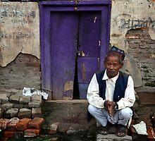 By the Purple Door by Valerie Rosen