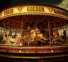 Golden Gallop by ajgosling
