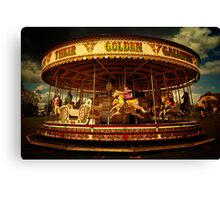 Golden Gallop Canvas Print