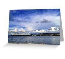 Edmonds Ferry, Washington State Greeting Card