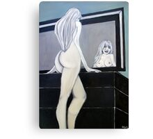 Naked Reflection Canvas Print