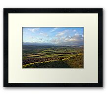 View From Scout Scar (View 1 of 3) Framed Print