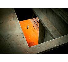 Tracks loneliness Photographic Print