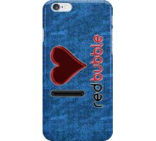 I ♥ RedBubble - Light Blue Jean iPhone Case/Skin