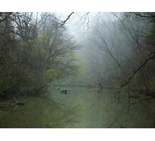 Foggy Tinker Creek~ Photographic Print