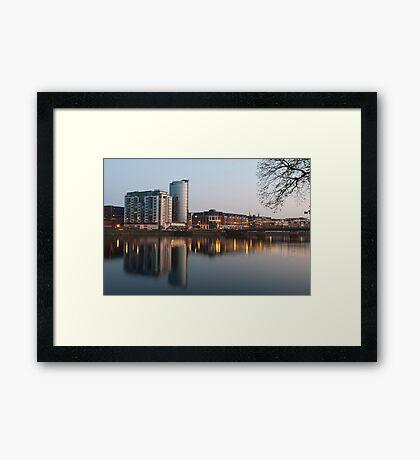 Limerick at night Framed Print