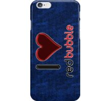 I ♥ RedBubble - [Stitches] iPhone Case/Skin