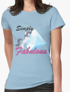 Rarity and Tom Womens Fitted T-Shirt
