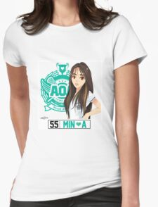 AOA Mina (Heart Attack) Womens Fitted T-Shirt