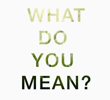 Justin Bieber - What do you mean Unisex T-Shirt