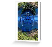 The Navi Hawaiian  Greeting Card