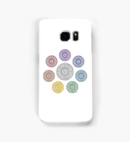 colours of life - chakras Samsung Galaxy Case/Skin