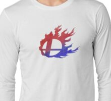 Smash Bros Flames Long Sleeve T-Shirt