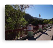 The Bridge - El Puente Canvas Print