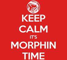 Keep Calm It's Morphin Time (Red) T-Shirt