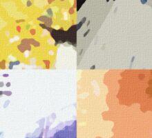 Radiohead Pop Art Sticker
