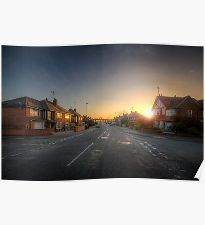 Suburban Sunrise 9.0 Poster