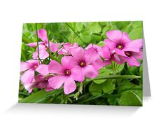 Flower Chain Greeting Card