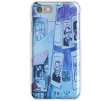 Blue on the Street iPhone Case/Skin