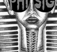 Phi Sigma Sigma Sphinx Sticker