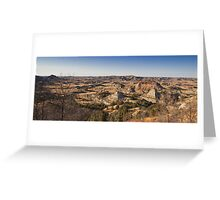 Painted Canyon Greeting Card