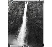 Multnomah Falls, Black and White iPad Case/Skin