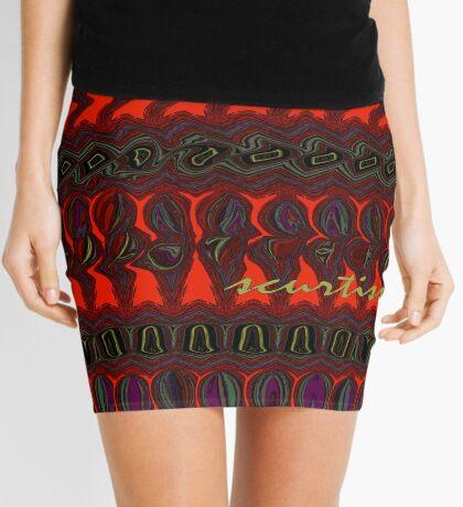 A Holographic Universe Mini Skirt