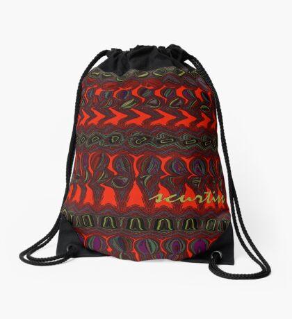 A Holographic Universe Drawstring Bag