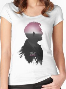 True Detective 'Cohle' Tee Women's Fitted Scoop T-Shirt