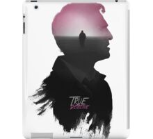 True Detective 'Cohle' Tee iPad Case/Skin