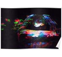 Lights in the OCF Meadow Poster