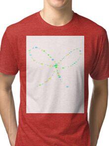 Bow Ribbon Tri-blend T-Shirt