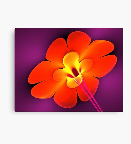 Dynamite Flower Canvas Print