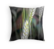 Look What Grows Where Birdseed Falls!! Throw Pillow