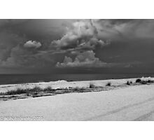 Unsettled Sky Photographic Print