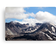 Mount St Helens lava dome 2 Canvas Print