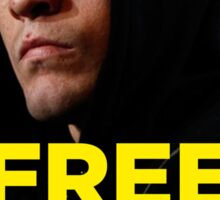 FREE NICK DIAZ - Nevada State Athletic Commission (NSAC) ban Nick Diaz for 5 years! Sticker