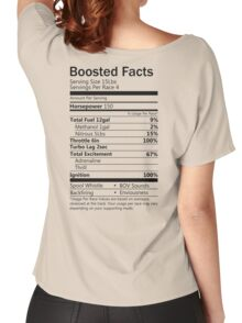 Boosted Facts - Transparent background Women's Relaxed Fit T-Shirt